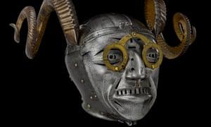 Henry VIII's horned helmet