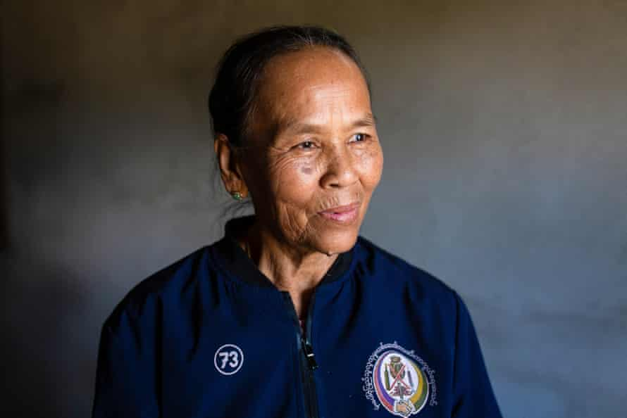 Ester, a nurse and member of Women Pat Jasan, a group that has been fighting the drug problems in their local area since 2012.