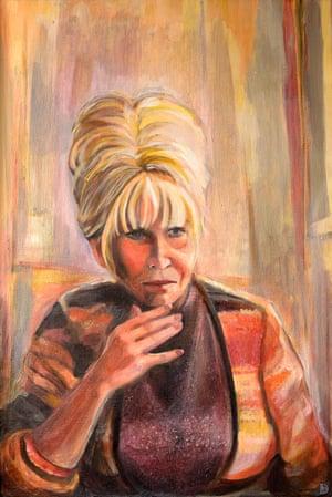 Barbara Windsor portrait by Dan Llywelyn Hall