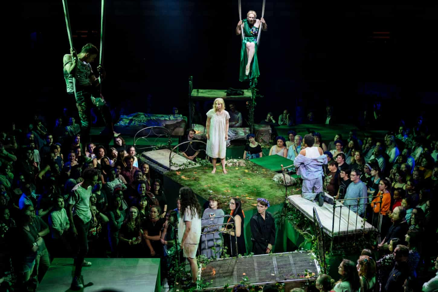 The week in theatre: A Midsummer Night's Dream; While the Sun Shines; Vanya and Sonia and Masha and Spike – review