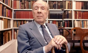 """Jorge Luis Borges<br>Argentine writer Jorge Luis Borges at home in Buenos Aires, Argentina, 1983. (Photo by Christopher Pillitz/Getty Images)"""
