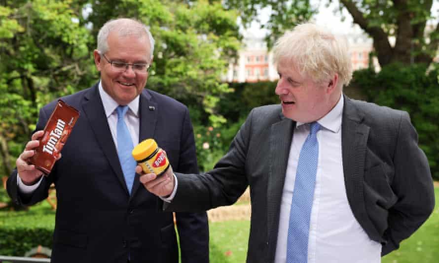Photo of the week 1 Scott Morrison and Boris Johnson