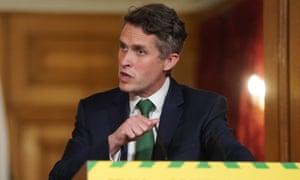 Education secretary Gavin Williamson's 'massive catch-up operation' has been heavily criticised