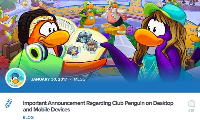 Club Penguin: the kids' website that became an internet obsession