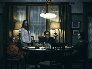 Fraught family relations in Hereditary.