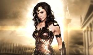 Gal Gadot as Wonder Woman in the 2017 movie