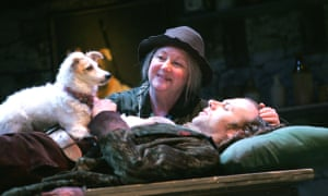 Anita Reeves as Mrs O'Kelly with Don Wycherley as Conn in The Shaughraun, 2005.