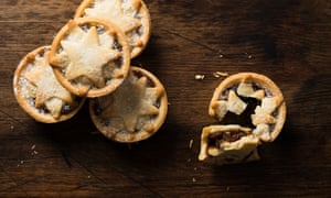 Iceland mince pies with star-shaped tops.