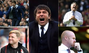 The managers who stood out from the crowd in the Premier League this season.