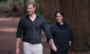 The Duke And Duchess of Sussex in New Zealand last year.