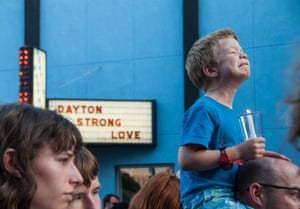 Dayton, Ohio: People fill the streets during the vigil