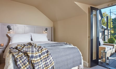 Bedroom at he Grandtully Hotel