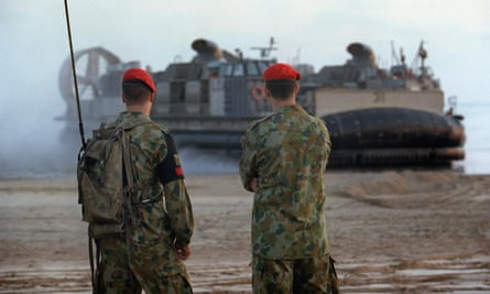 Australian defence spokesman said agreement with US provides 'for the rotational presence of US forces in Australia' .