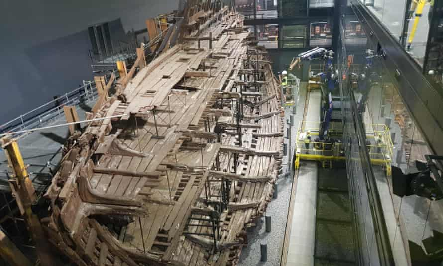 The Mary Rose in Portsmouth