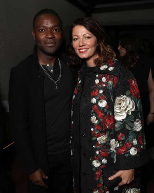 David Oyelowo and his wife the actor Jessica Oyelowo.