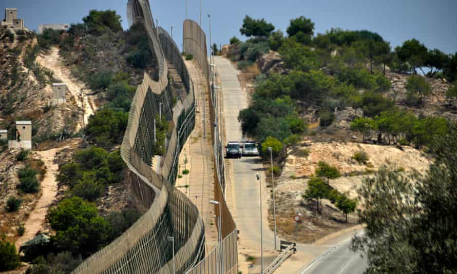 Spain built a vast border between Morocco and its enclave of Melilla.