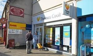 The Keynsham, Bath and North East Somerset branch of Thomas Cook