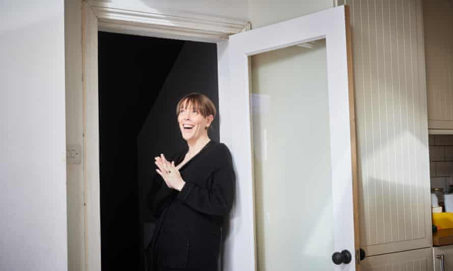 Jess Phillips at home in Birmingham