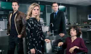 The cast of Silent Witness