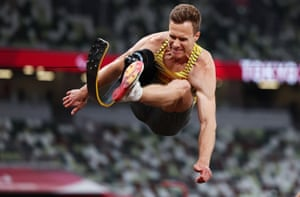 Markus Rehm of Germany.