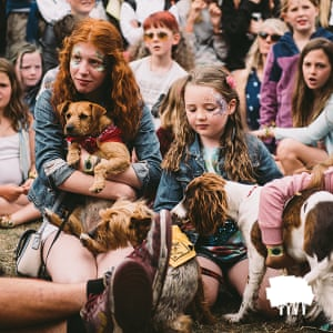 Standon Calling has a pet dogs' show.