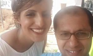 Raabyaah Althaibani and her husband, Basheer Othman.