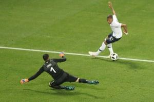 France's forward Kylian Mbappé versus Italy