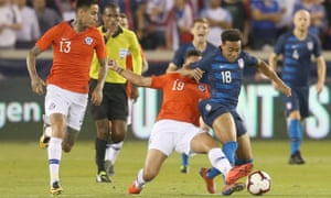The US recorded a solid draw against Chile on Tuesday night