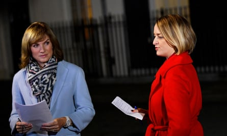 Laura Kuenssberg and Fiona Bruce