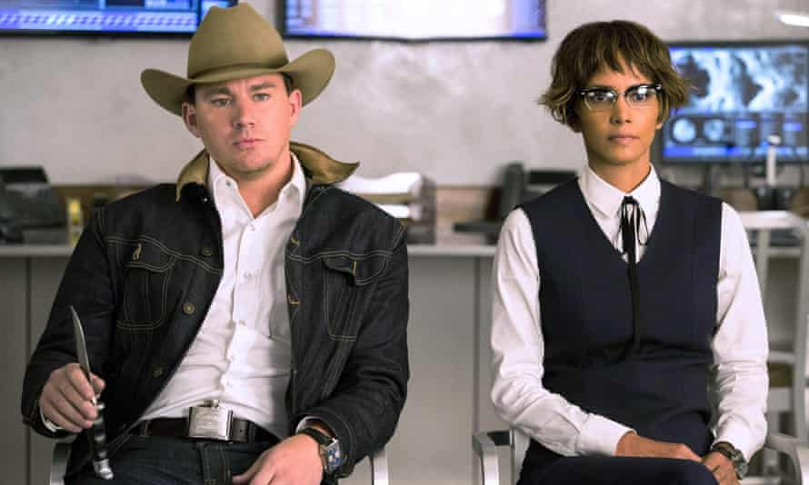Hats off: Channing Tatum and Halle Berry