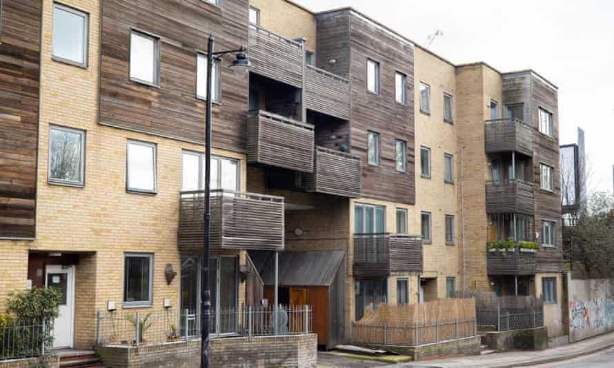 Apartments in Tower Hamlets in London, which need new cladding.