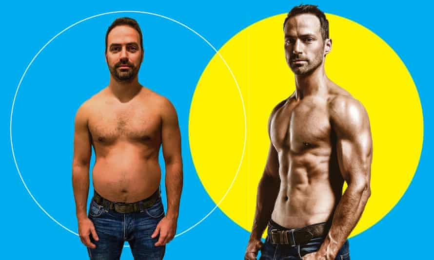 Jon Lipsey, the cover star for the May 2018 issue of Men's Health
