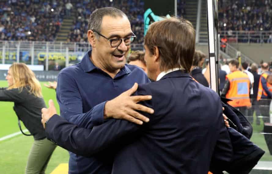 Maurizio Sarri and Antonio Conte.