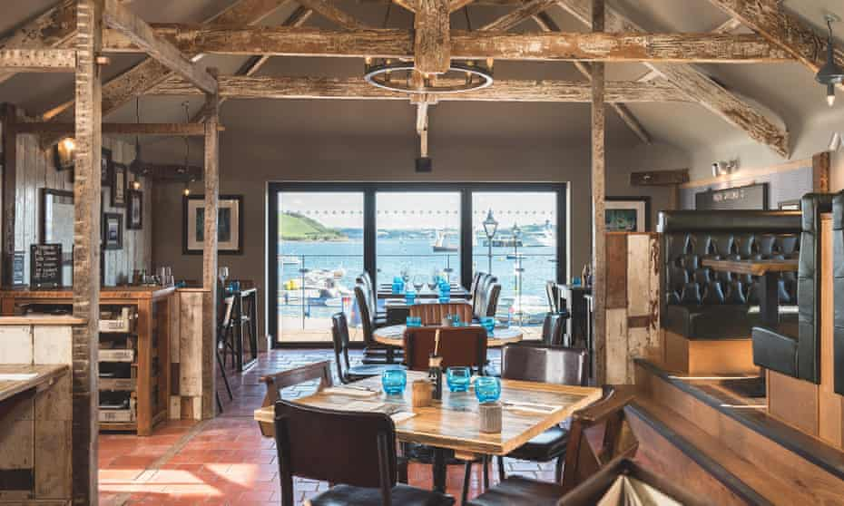 Down to the sea again … the dining room at the Chain Locker, Falmouth