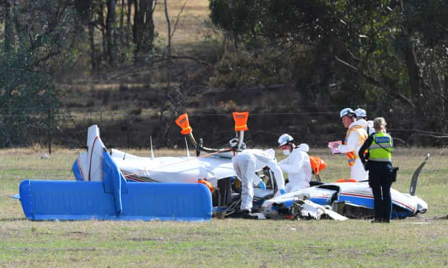 A fatal plane crash has killed four people in Victoria