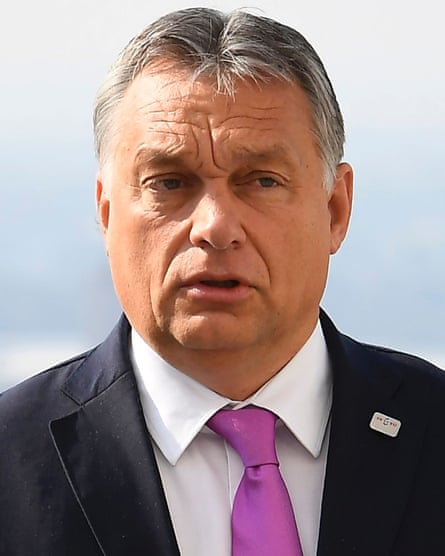 Viktor Orban has been accused of stirring up hatred.