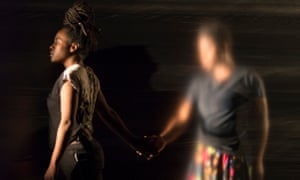 A scene from Poor People's TV Room by Okwui Okpokwasili.