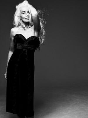 Model Yazmeennah Rossi at Mrs.Robinson wears Dress £2,480, Miu Miu (matchesfashion.com) Earrings £210, marni.com