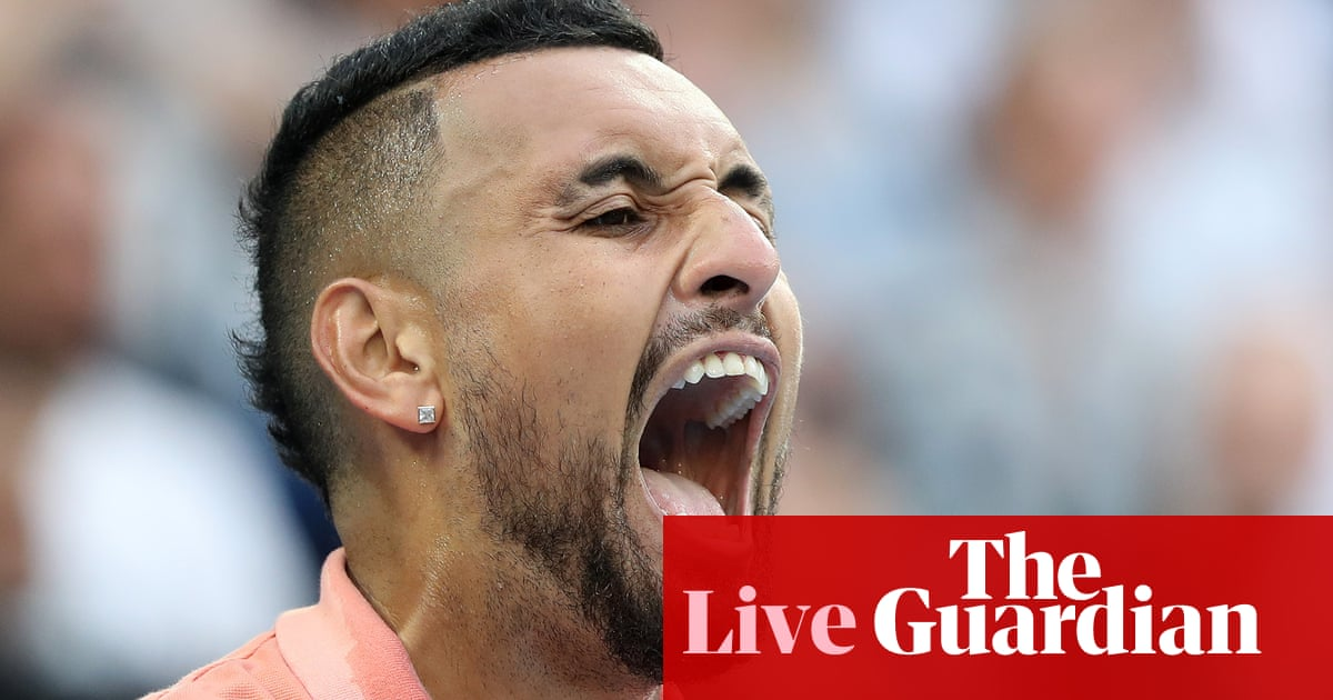 3000 - Australian Open: Rafael Nadal v Nick Kyrgios, plus Kerber in action – live!
