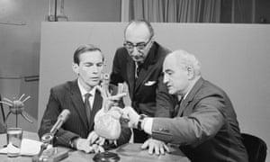 Dr Christian Bernard (left).