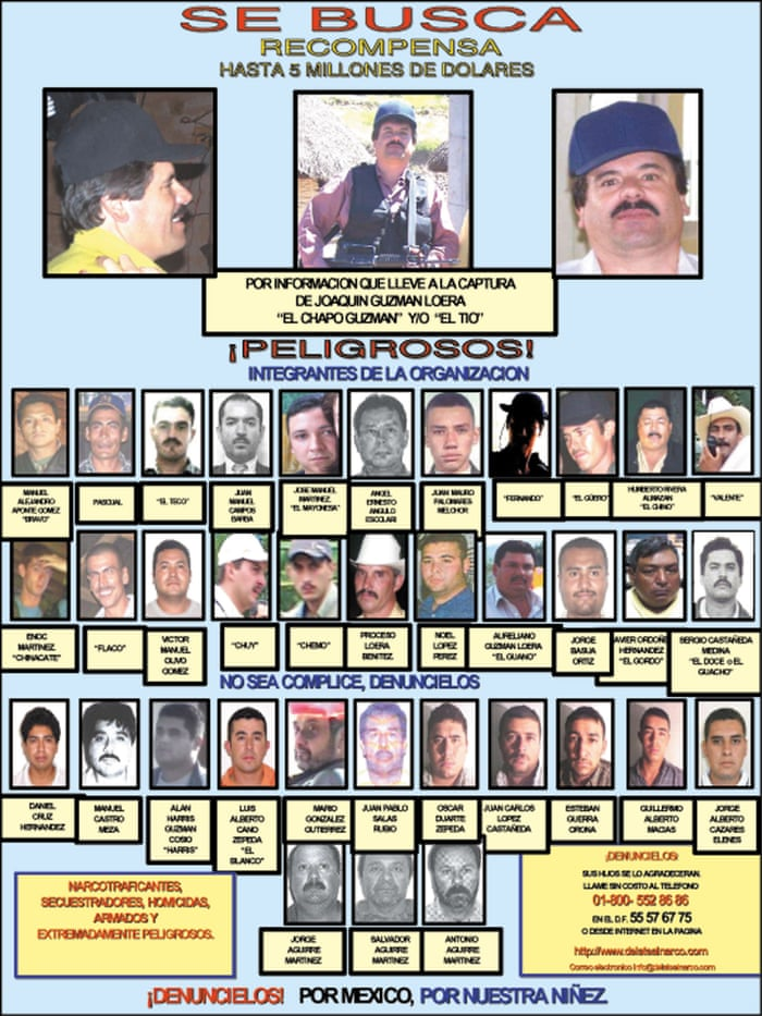 A tale of blood, betrayal and family bonds  How El Chapo came to