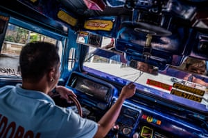 Although the government have announced a seven-year payment plan, plus a subsidy of 80,000 PHP so that drivers can change vehicles, drivers like John Paul are worried about the cost. John Paul's daily pay is currently around 500 to 1000 PHP, while a new jeep would work out at around 600 PHP a day