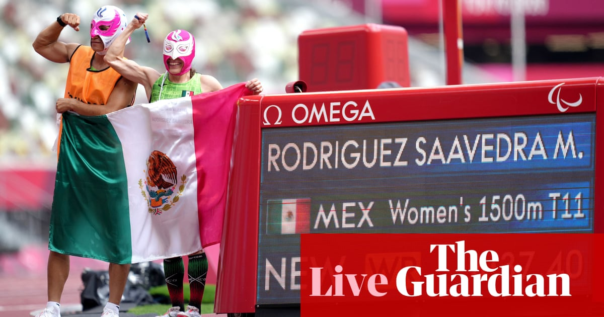 Tokyo Paralympic Games 2020 day six: shooting begins, athletics and more – live!