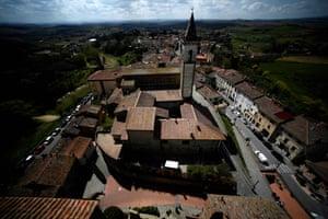 The view from the Castello dei Conti Guidi