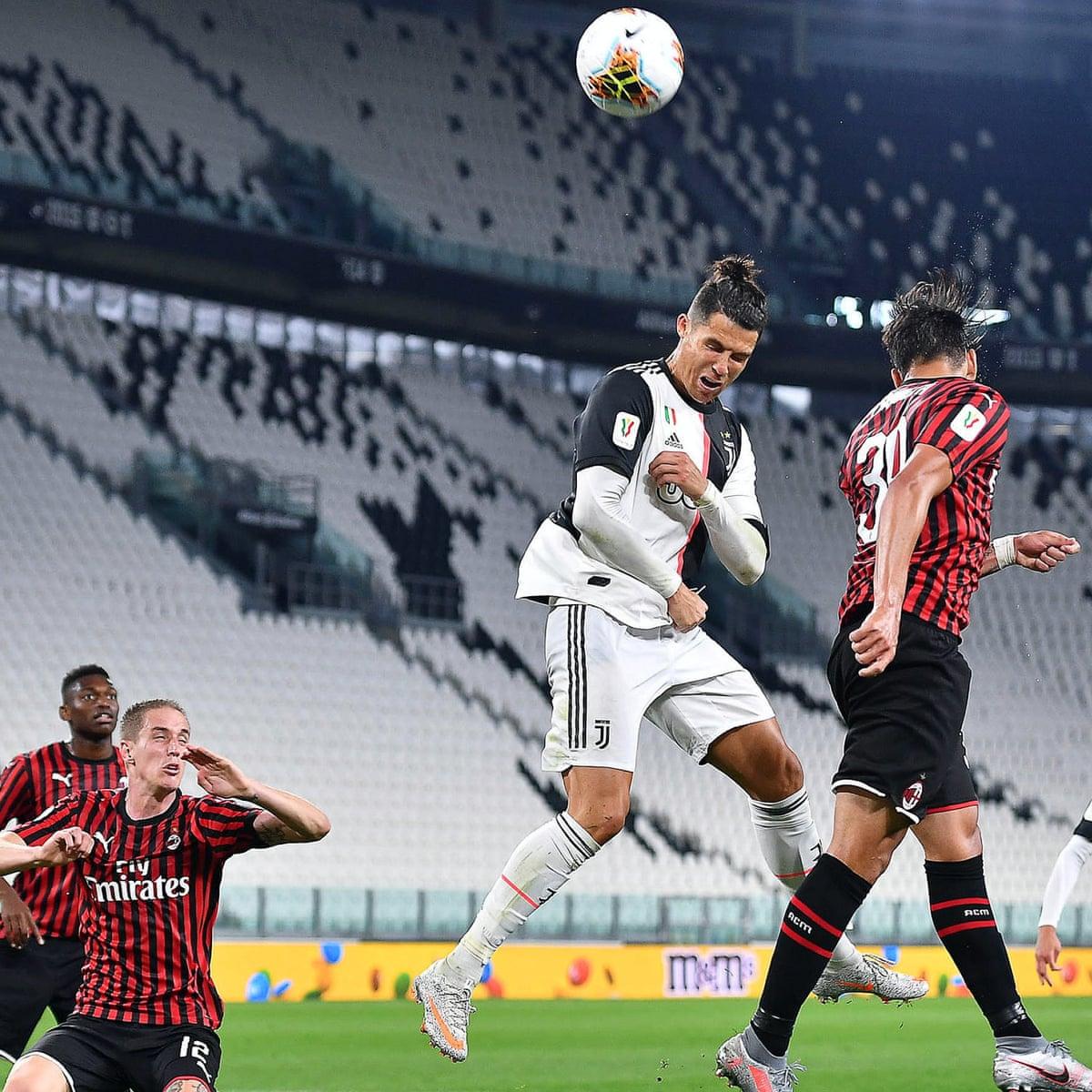 Juventus Reach Coppa Italia Final After Stalemate Despite Ronaldo Penalty Miss European Club Football The Guardian