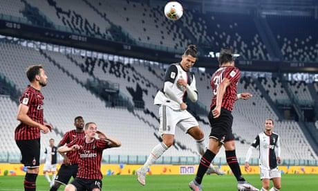 Juventus reach Coppa Italia final after stalemate despite Ronaldo penalty miss
