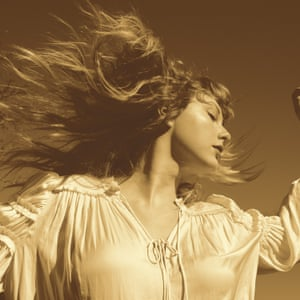 The artwork for Fearless (Taylor's Version).