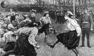 The British Ladies' Football Club, 1895.