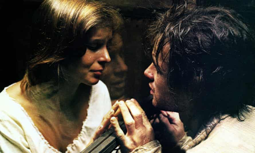 Irene Miracle and Brad Davis in Alan Parker's Midnight Express.