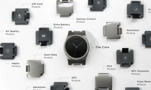 The Blocks smartwatch.